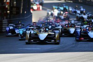 Antonio Felix Da Costa, DS Techeetah, DS E-Tense FE21, Mitch Evans, Jaguar Racing, Jaguar I-TYPE 5, Robin Frijns, Envision Virgin Racing, Audi e-tron FE07