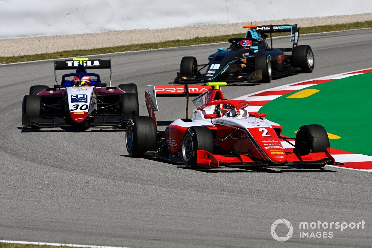 Arthur Leclerc, Prema Racing, \Enzo Fittipaldi, Charouz Racing System