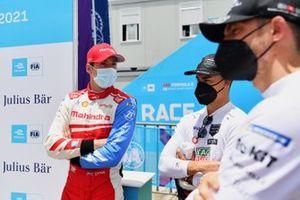 Alex Lynn, Mahindra Racing, Pascal Wehrlein, Tag Heuer Porsche, Edoardo Mortara, Venturi Racing