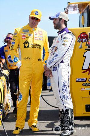 Kyle Busch, Joe Gibbs Racing, Toyota Camry Pedigree, Daniel Suarez, TrackHouse Racing, Chevrolet Camaro Tootsies Orchid Lounge