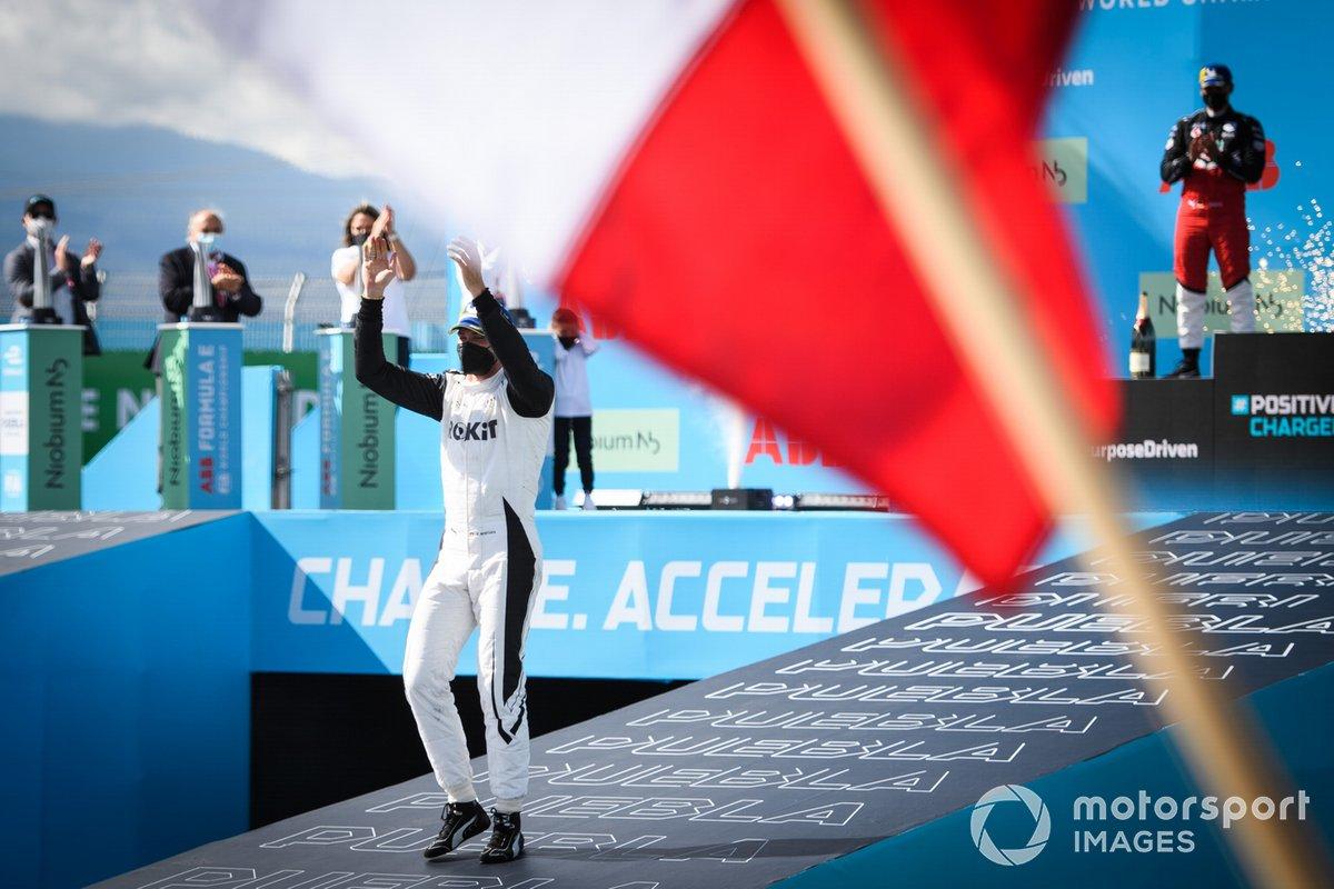 Podio: ganador Edoardo Mortara, Venturi Racing