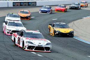 Harrison Burton, Joe Gibbs Racing, Toyota Supra DEX Imaging, Christopher Bell, Joe Gibbs Racing, Toyota Supra DEWALT