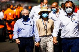 Jean Todt, President, FIA, and Michelle Yeoh