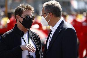 Stefano Domenicali, CEO, Formula 1, and Tom Cruise