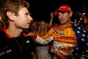 IndyCar-Champion 2012: Ryan Hunter-Reay, Andretti Autosport Chevrolet, mit Will Power, Team Penske Chevrolet