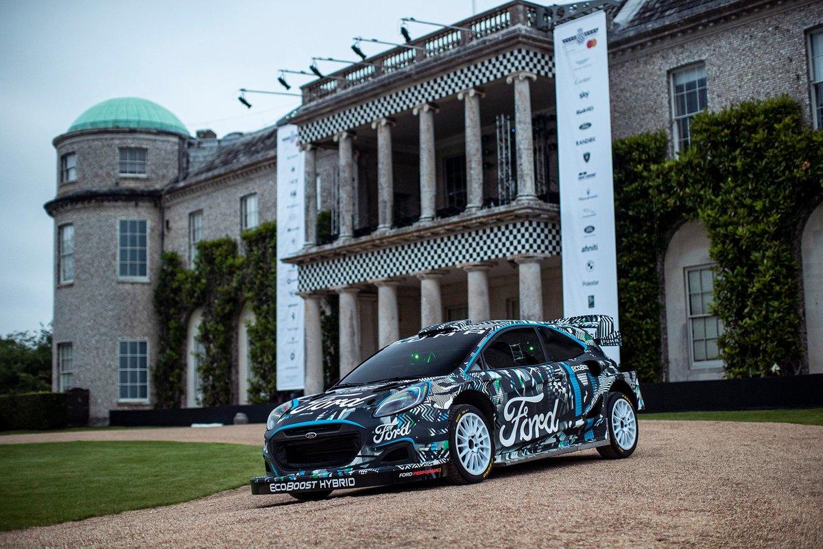 Автомобиль-прототип Puma Rally1 WRC