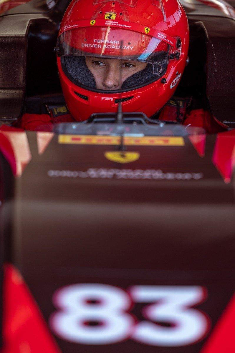 Bruno del Pino, Ferrari Driver Academy