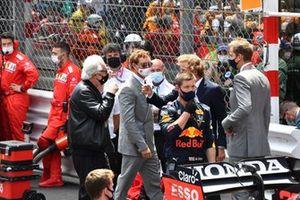 Flavio Briatore on the grid