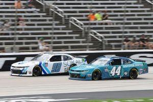 Stefan Parsons, B.J. McLeod Motorsports, Ford Mustang SOKAL Digital, Tommy Joe Martins, Martins Motorsports, Chevrolet Camaro Discover Denton Texas