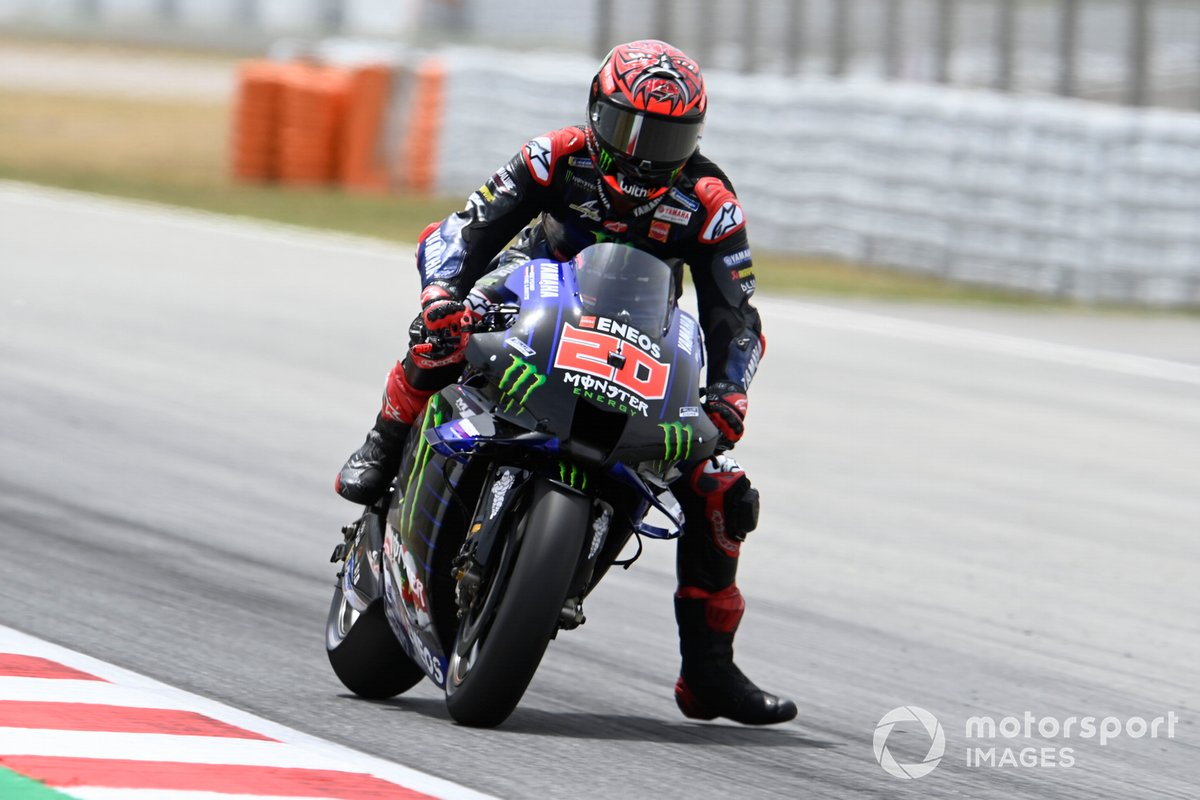 2021: Fabio Quartararo (Yamaha) mit 1:38,853 Minuten