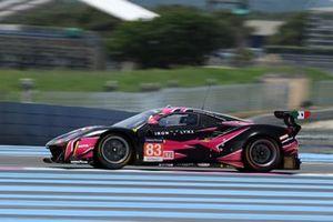 #83 Iron Lynx Ferrari F488 GTE Evo: Rahel Frey, Michelle Gatting, Manuela Gostner