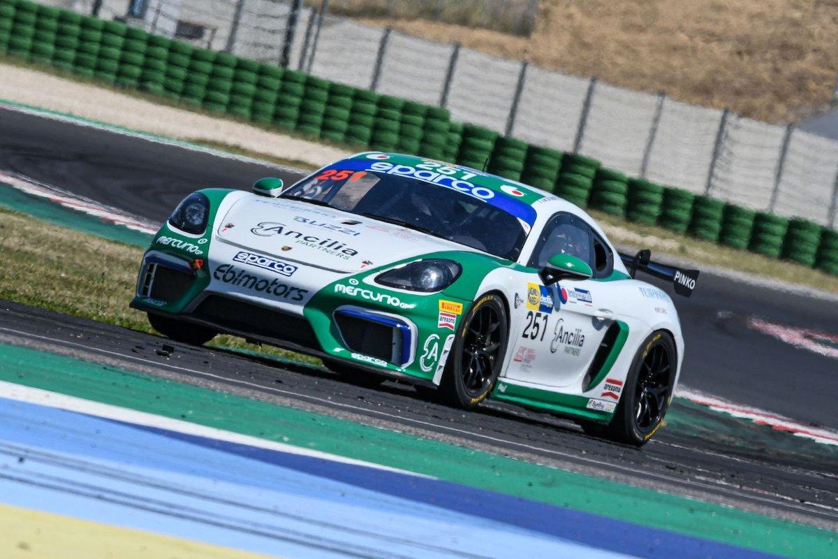 Mattia Di Giusto, Riccardo Pera, Ebimotors, Porsche 718 Cayman GT4: