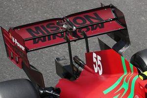 Заднее антикрыло Ferrari SF21