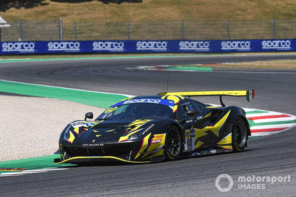 #60 Iron Lynx, Ferrari 488 GT3 Evo: Andrea Piccini, Claudio Schiavoni, Rino Mastronardi