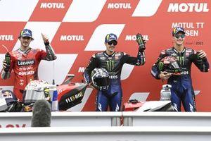 Маверик Виньялес и Фабио Куартараро, Yamaha Factory Racing, Франческо Баньяя, Ducati Team
