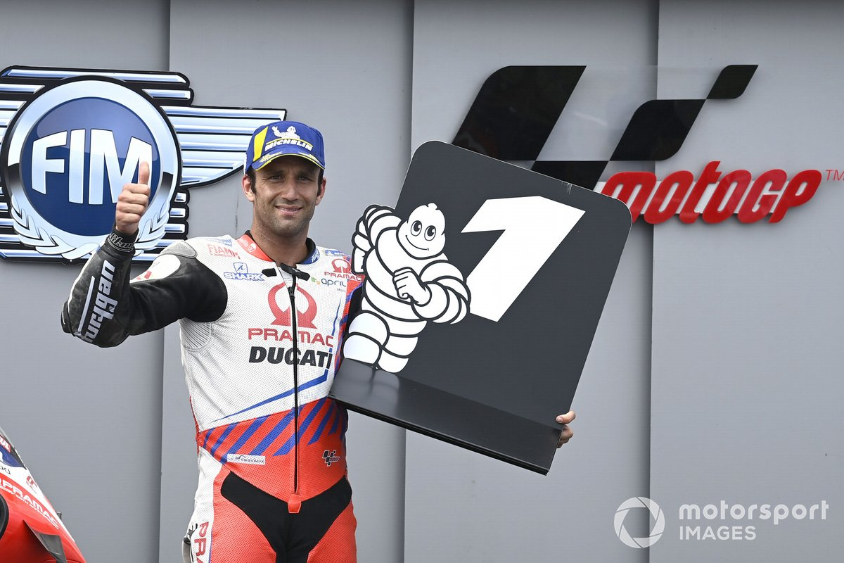 Ganador de la pole Johann Zarco, Pramac Racing