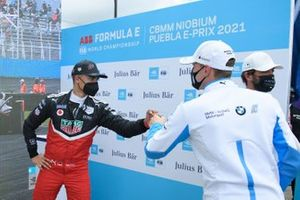 Polesitter Pascal Wehrlein, Tag Heuer Porsche, mit Maximilian Günther, BMW I Andretti Motorsport