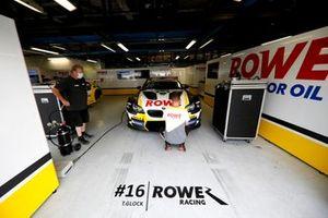 Car of Timo Glock, ROWE Racing, BMW M6 GT3