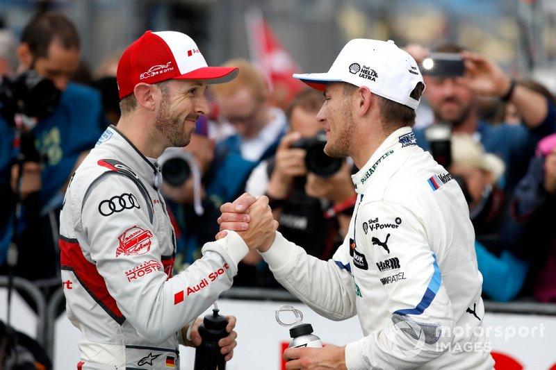 René Rast, Audi Sport Team Rosberg and Marco Wittmann, BMW Team RMG