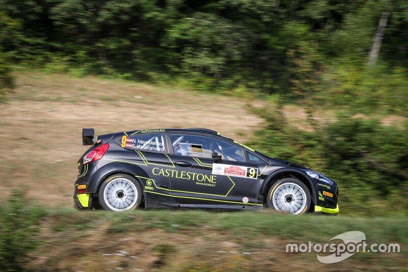 Mayr-Melnhof Nikolaus, Welsersheimb Poldi, Ford Fiesta R5, Rally di Roma Capitale, FIA ERC