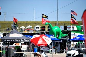 Dino Dinosaur paddock atmosphere