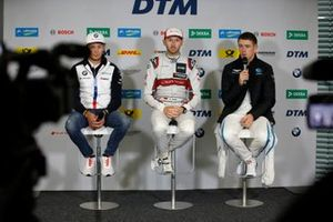 Press Conference, Marco Wittmann, BMW Team RMG, René Rast, Audi Sport Team Rosberg, Paul Di Resta, R-Motorsport
