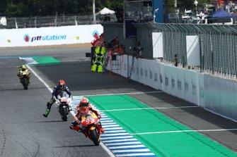 Marc Marquez, Repsol Honda Team, Tito Rabat, Avintia Racing, Andrea Iannone, Aprilia Racing Team Gresini