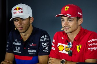 Charles Leclerc, Ferrari, Pierre Gasly, Toro Rosso