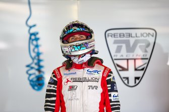 #1 REBELLION RACING - Rebellion R13 - Gibson: Gustavo Menezes