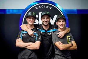 Celestino Vietti, Pablo Nieto, Andrea Migno, SKY RACING TEAM VR46
