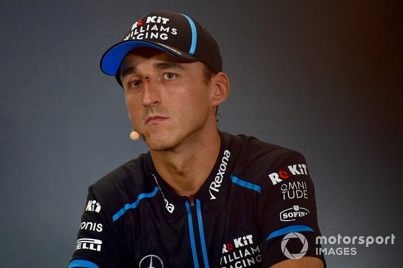 Robert Kubica, Williams Racing in conferenza stampa