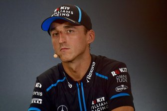 Robert Kubica, Williams Racing in conferenza stampa