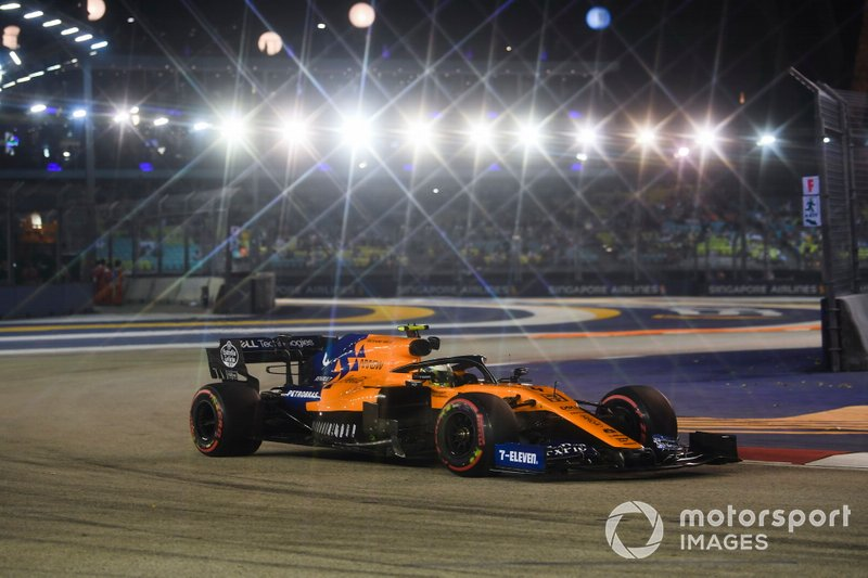 7 - Lando Norris, McLaren MCL34