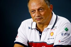 Frederic Vasseur, Team Principal, Alfa Romeo Racing, in the Press Conference