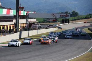 Alberto Cerqui, Dinamic Motorsport, alla partenza