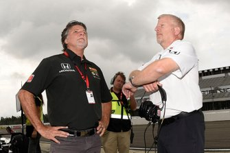 Michael Andretti and Rob Edwards