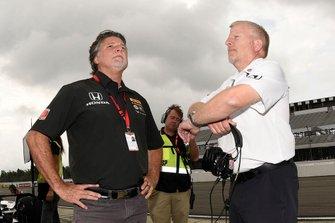 Michael Andretti und Rob Edwards