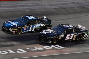 Josh Bilicki, Rick Ware Racing, Chevrolet Camaro Chelle Corporation / AQRE and Clint Bowyer, Stewart-Haas Racing, Ford Mustang Peak Lighting