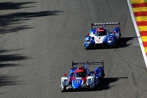 #23 Panis Barthez Competition Ligier JSP217 Gibson: René Binder, William Stevens, Julien Canal