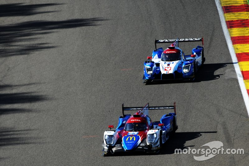 #23 Panis Barthez Competition Ligier JSP217 Gibson: René Binder, William Stevens, Julien Canal
