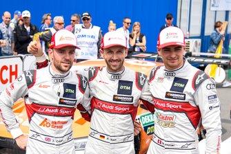 Jamie Green, Audi Sport Team Rosberg, René Rast, Audi Sport Team Rosberg, Audi RS 5 DTM, Nico Müller, Audi Sport Team Abt Sportsline