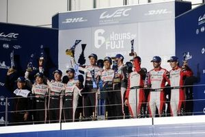 Podium 1. Sébastien Buemi, Kazuki Nakajima, Brendon Hartley , 2. Mike Conway, Jose Maria Lopez, Kamui Kobayashi, 3. Bruno Senna, Gustavo Menezes, Norman Nato