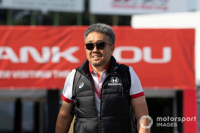 Masashi Yamamoto, directeur général, Honda Motorsport