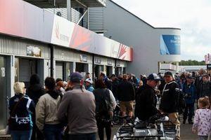 BTCC, Paddock a Silverstone