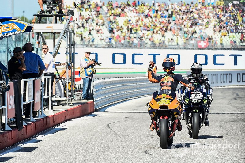 Secondo classificato Pol Espargaro, Red Bull KTM Factory Racing