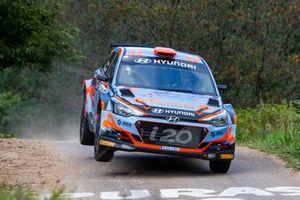 Iván Ares - David Vázquez, Hyundai i20 R5, Rallye Princesa de Asturias