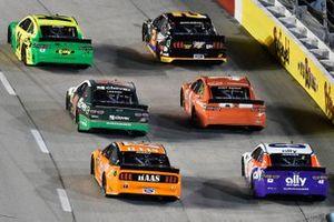 William Byron, Hendrick Motorsports, Chevrolet Camaro Hendrick Autoguard/City Chevrolet Throwback, Brad Keselowski, Team Penske, Ford Mustang Miller Lite