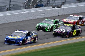Chase Elliott, Hendrick Motorsports, Chevrolet Camaro NAPA Batteries, Jimmie Johnson, Hendrick Motorsports, Chevrolet Camaro Ally
