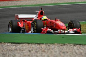 Mick Schumacher drives the Ferrari F2004