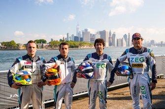 Simon Evans, Team Asia New Zealand, Bryan Sellers, Rahal Letterman Lanigan Racing, Sérgio Jimenez, Jaguar Brazil Racing, Cacá Bueno, Jaguar Brazil Racing